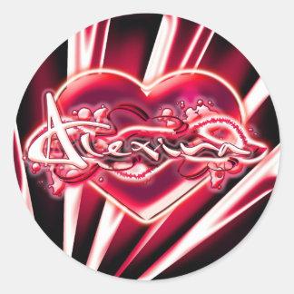 Alexina Stickers