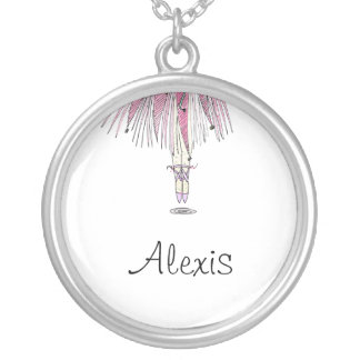 Alexis - Ballerina Necklace - personalize