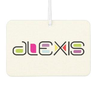 Alexis Contempo Brights Design Car Air Freshener