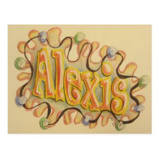 Alexis - name card