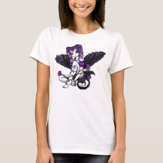 """Alexis"" Purple Angel T-Shirt"