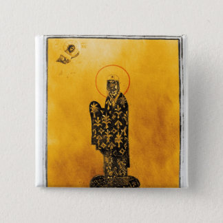 Alexius I Comnenus , Byzantine emperor 2 15 Cm Square Badge