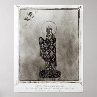 Alexius I Comnenus , Byzantine emperor Poster