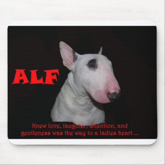 ALF knew love laughter attention and gentleness Mouse Pad