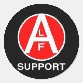 ALF Support Classic Round Sticker