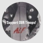 ALF - Support OUR Troops! Sticker