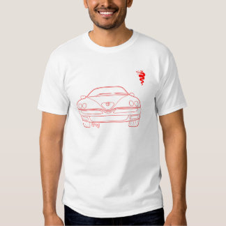 Alfa 916 series GTV Spider sketch by Grog T Shirt