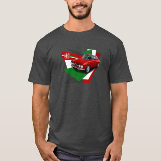 Alfa Romeo 1750 GTV Illustrated T-shirt