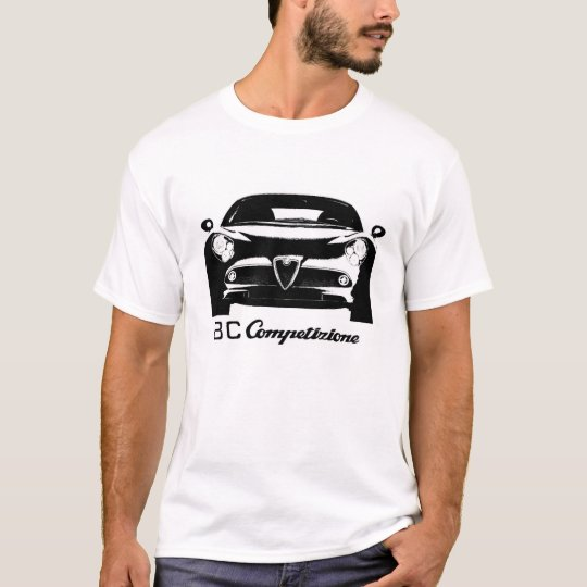 Alfa Romeo 8C Competizione T-shirt #1