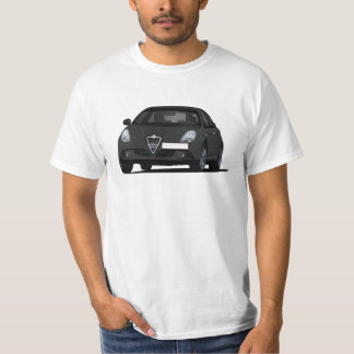 Alfa Romeo Giuletta - black car T-Shirt