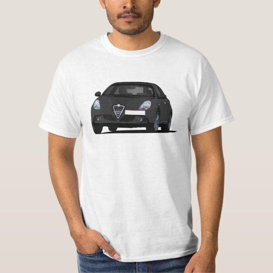 Alfa Romeo Giuletta - black car T-Shirt