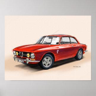 Alfa Romeo GTV Poster
