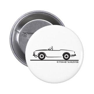 Alfa Romeo Guilia Spider Duetto 6 Cm Round Badge