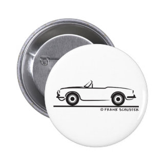 Alfa Romeo Guilietta Spider 6 Cm Round Badge