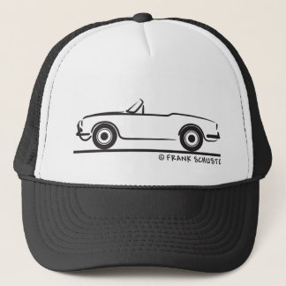 Alfa Romeo Guilietta Spider Trucker Hat