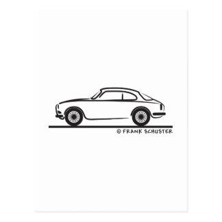 Alfa Romeo Guilietta Sprint Coupe Postcard