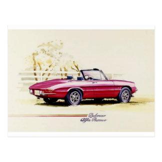 Alfa Romeo Postcard