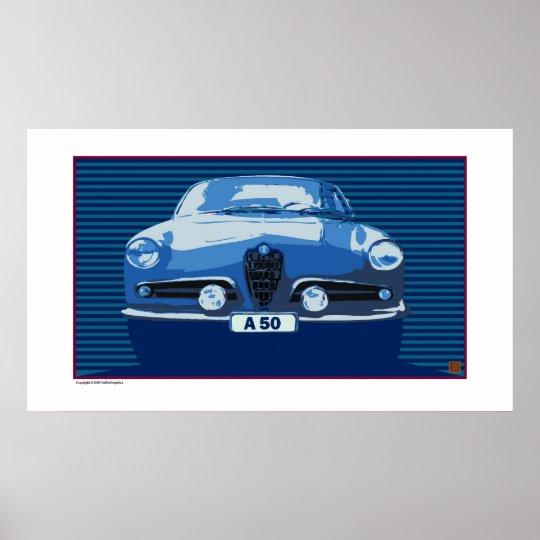 Alfa Romeo-Print Poster
