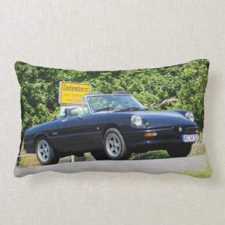 Alfa Romeo Spider as ZENDER special model Lumbar Pillow