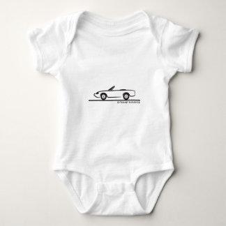 Alfa Romeo Spider Duetto Baby Bodysuit