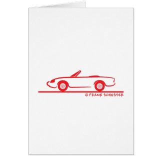 Alfa Romeo Spider Duetto Card