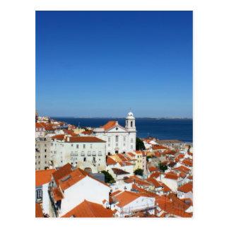 Alfama, Lisbon, Portugal Postcard