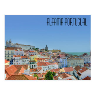 Alfama Portugal Postcard