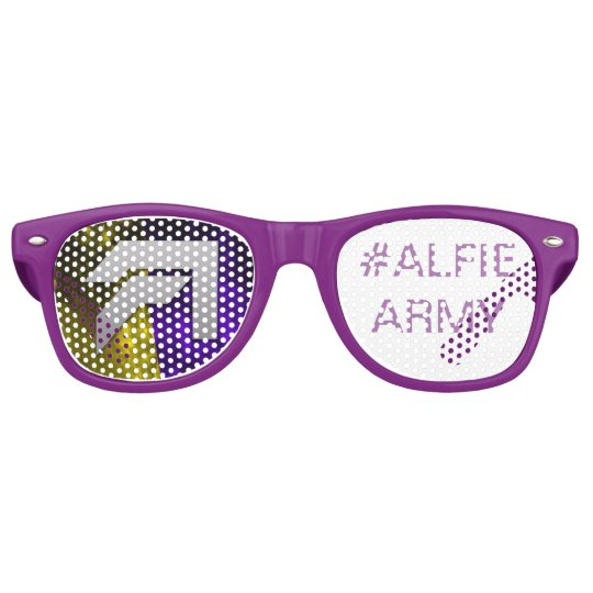 Alfie Paynter #ALFUE ARMY Sun shadex Retro Sunglasses