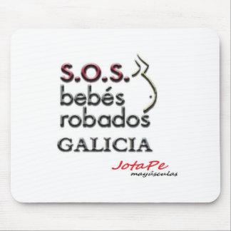 ALFOMBRILLA RATON SOS BEBES ROBADOS GALICIA ALFOMBRILLA DE RATONES