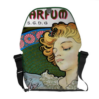Alfons Mucha 1896 Lance Parfum Rodo Courier Bag