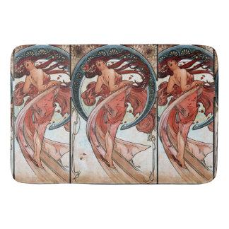 Alfons Mucha 1898 Dance Bath Mats