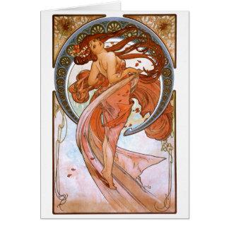 Alfons Mucha: Dance Card