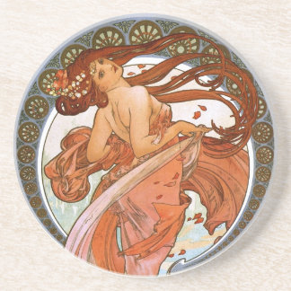 Alfons Mucha: Dance Coaster