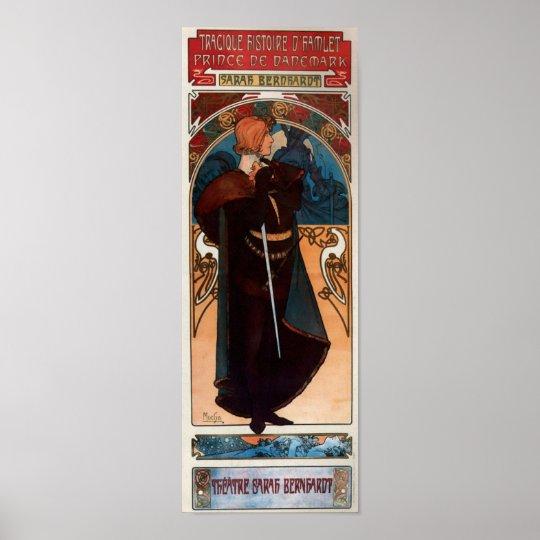 Alfons Mucha Hamlet Poster