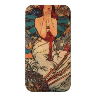 Alfons Mucha Monaco Monte Carlo Cover For iPhone 4