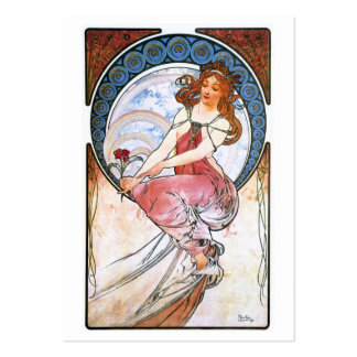 Alfons Mucha: Muse of Painting Pack Of Chubby Business Cards