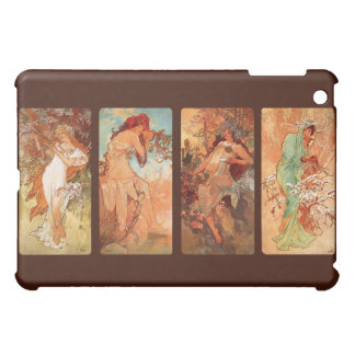 Alfons Mucha Seasons Art Nouveau Tetraptych Case For The iPad Mini
