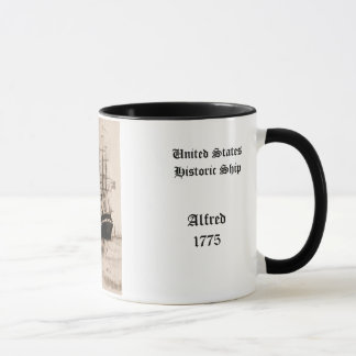 Alfred 1775   United States Historic ship Mug