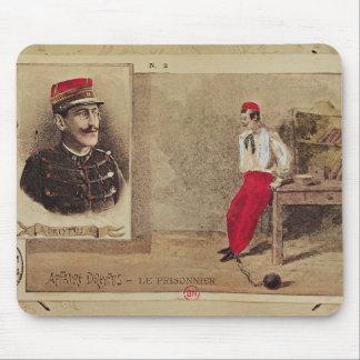 Alfred Dreyfus  as a prisoner, 1894-1906 Mouse Pad