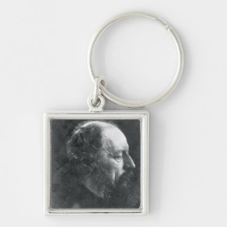 Alfred, Lord Tennyson (1809-92) c.1868 (albumen pr Key Ring