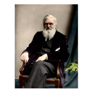 Alfred Russel Wallace c1895 Postcard