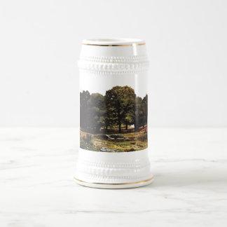 Alfred Sisley 1865 La Celle-Saint-Cloud Kastaniena 18 Oz Beer Stein