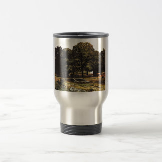 Alfred Sisley 1865 La Celle-Saint-Cloud Kastaniena Stainless Steel Travel Mug