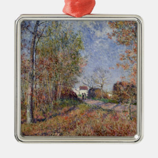 Alfred Sisley | A Corner of the Woods at Sablons Christmas Ornament