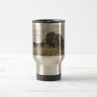 Alfred Sisley - Anfang Oktober 1882 Oil Print Coffee Mugs