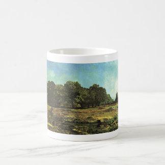 Alfred Sisley - La Celle-Saint-Cloud 1865 Chestnut Basic White Mug