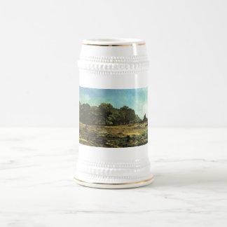 Alfred Sisley - La Celle-Saint-Cloud 1865 Chestnut Beer Steins