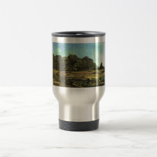 Alfred Sisley - La Celle-Saint-Cloud 1865 Chestnut Stainless Steel Travel Mug