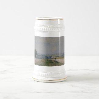 Alfred Sisley -Le Chemin de Montbuisson à Louveci Beer Steins