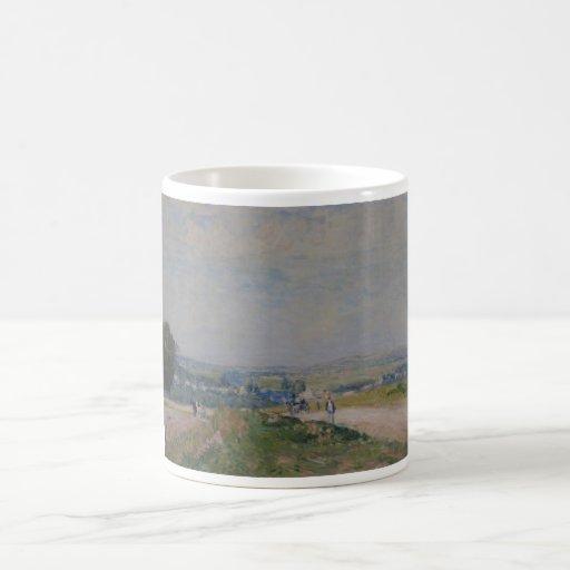 Alfred Sisley -Le Chemin de Montbuisson à Louveci Mugs